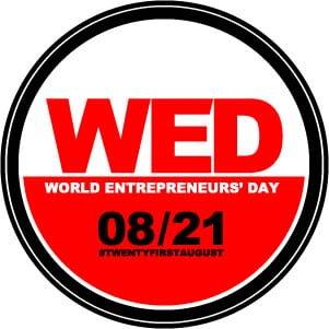 La Giornata Mondiale dell'Imprenditore (21 Agosto)